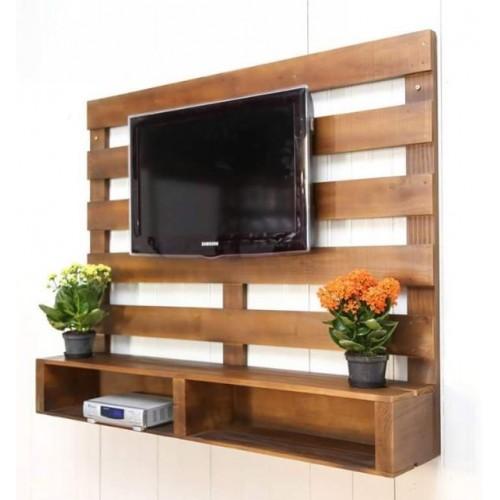 Подставка под Телевизор с Дополнительной Стенкой