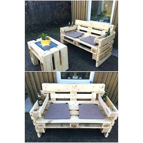 Набор Мебели - Столик и Диван
